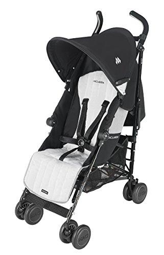Maclaren Quest Stroller, Black/Silver front-951924