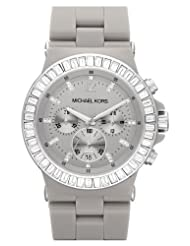 Michael Kors MK5618 Dylan Ceramic Grey Glitz Chronograph Watch