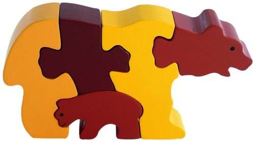 Cheap Fun ImagiPLAY Bear and Cub Puzzle (B001QO8N4E)