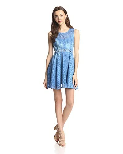 Raga Women's Sleeveless Tie-Dye Lace Short Length Dress