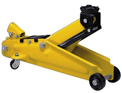4,500 lbs. Capacity Trolley Jack with Case Performance Tool W1611 2.25 Ton