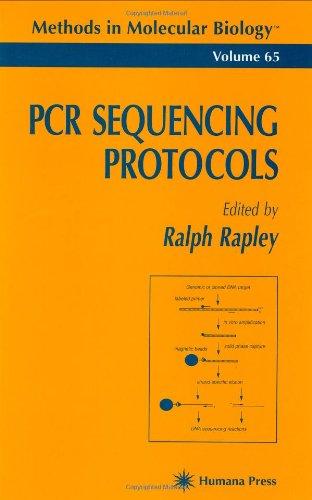 Pcr Sequencing Protocols (Methods In Molecular Biology)
