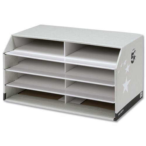 5-star-facilities-document-sorter-with-8-compartments-grey