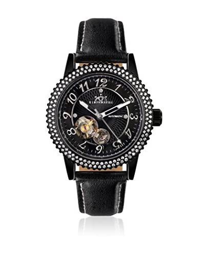 Hindenberg Orologio Automatico 250-H Air Professional Lady Pvd Nero 36 mm