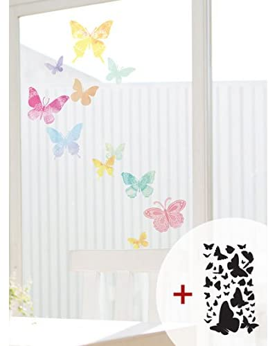 Ambiance Live Vinilo Decorativo Artistic butterflies Multicolor