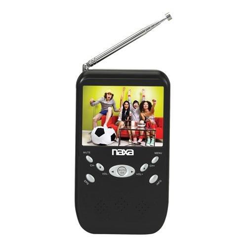 Naxa Nt-301 3.5-Inch Digital Lcd Television With Fm Radio And Sd/Mmc Card Slot