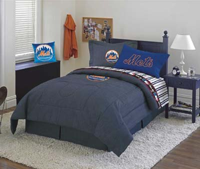 NY Mets Full Comforter & Sheet Set at Amazon.com