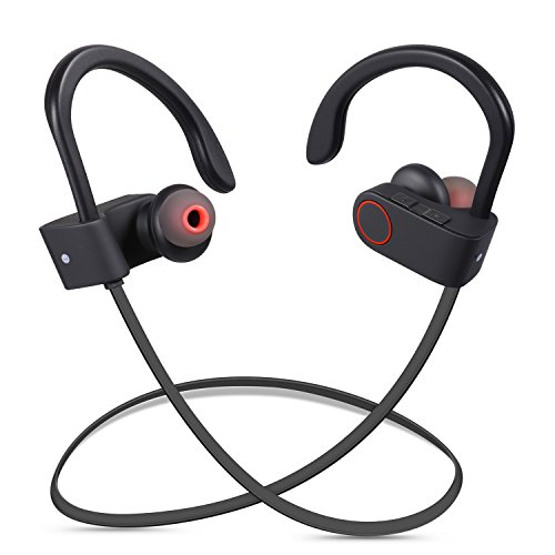 redlink wireless bluetooth v4 1 headphones waterproof noise isolating in ear earbuds with. Black Bedroom Furniture Sets. Home Design Ideas