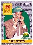 Gary Payton basketball card 1990 NBA Hoops #391 (Seattle Supersonics) rookie card