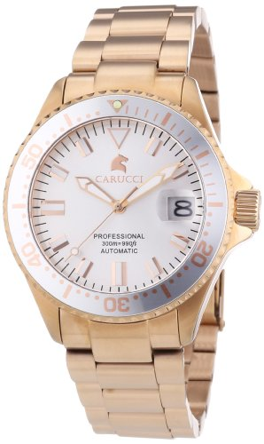Carucci Watches Women's Automatic Watch Brindisi CA2200RG with Metal Strap