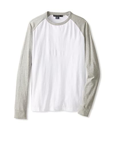 French Connection Men's Colourful Raglan Shirt