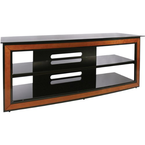 Review Bell 39 O Avsc 2126 Versatile Wood Trim Audio Video Furniture System Cherry Black Shopping