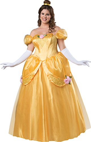 Halloween 2017 Disney Costumes Plus Size & Standard Women's Costume Characters - Women's Costume CharactersInCharacter Women's Plus Size Beautiful Princess Fitting Costume(S-2X)