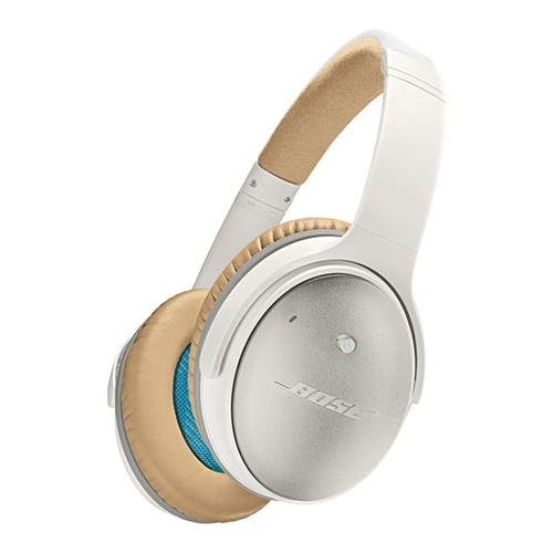 Bose QuietComfort 25 Acoustic Noise Cancelling Headphones for Apple devices, White