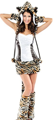 Anmengte Halloween Masquerade Party Cosplay Costume Cute Animals (M, LC8631) (Cute Halloween Tombstone Sayings)