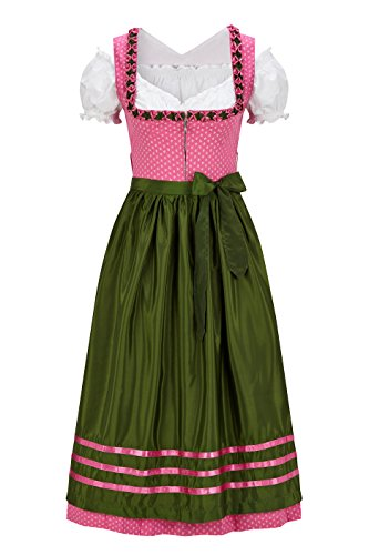 Original Steindl München-Salzburg Dirndl 3/4 lang-3tlg. Damen rosa thumbnail