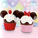 Mickey & Minnie Cupcake Salt and Pepper Set