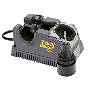 Drill Doctor 500X 3/32-Inch to 1/2-Inch Drill Bit Sharpener from Drill Doctor