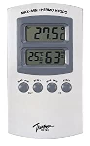 Digital Thermometer with Hygrometer - TM-871
