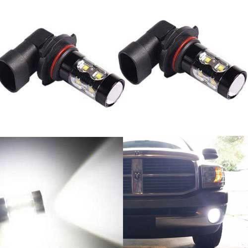 JDM ASTAR Extremely Bright Max 50W High Power 9006 HB4 LED Bulbs for DRL or Fog Lights, Xenon White (9006 Fog Lights compare prices)