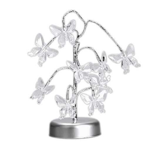 Mini Butterfly Tree Led Light Lamp For Home Desk Party Festival Decoration