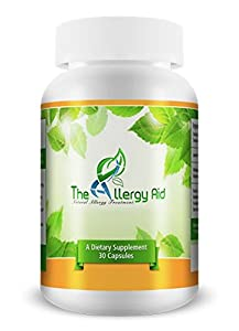 #1 Recommended Best Natural Allergy Treatment - The Allergy Aid - A Natural Allergy Treatment - Fast and Ongoing Allergy Relief. Promote Sinus Health, Fight Seasonal Allergies. Highest Quality Ingredients with Quercetin, Bromelain, Nac, Boswellia and More. The Best Healthy and Effective Natural Allergy Pills to Treat Allergies for Fast Relief