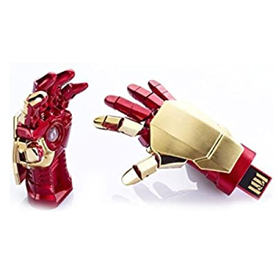 Portronics Marvel Ironman Hand USB (8 GB) POR 454