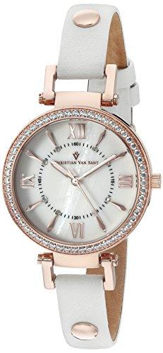 christian-van-sant-femme-cv8131-petite-affichage-analogique-swiss-quartz-blanc-montre