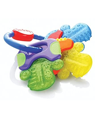"Nuby ""Keys"" Icy Bite Teether by Nuby"