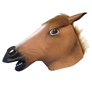 Horse Head Mask Super Creepy (Best Seller)