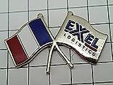 限定レア◆ピンバッジ◆フランス国旗エクセル社旗ピンズフランス