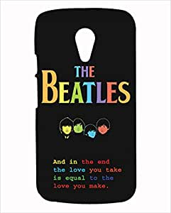 Inkspired Beatles Cover for Moto G (2nd Generation)