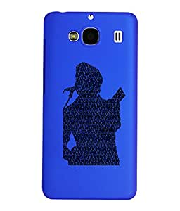 KolorEdge Back Cover For Xiaomi Redmi 2 - Dark Blue (1998-Ke15091Redmi2DBlue3D)