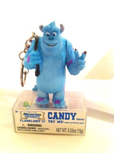 Disney Pixar Monsters University Sully Flashlight Clip Candy Gift Stocking Stuffer - 1