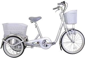 ミムゴ 20インチ三輪自転車 スイングチャーリー(シルバー) MG-TRE20SW-SL