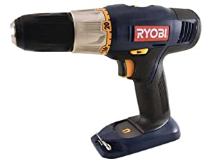 "Ryobi P204 18 Volt 1/2"" Drill/driver (Drill only, battery and charger not included)"
