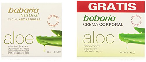 Babaria Aloe Crema Faciale Lozione Idratante - 150 ml