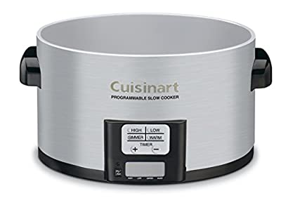 Cuisinart PSC-350FR Programmable Slow Cooker (Certified Refurbished), 3-1/2 quart, Silver from Cuisinart
