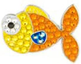 Bonjoc Ball Marker and Hat Clip GOLDFISH Fish