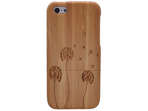 Queens® Unique Real Special Unique Real Handmade Natural Wood Wooden Hard Bamboo Shockproof Case For Iphone 6 (4.7) (A-22)