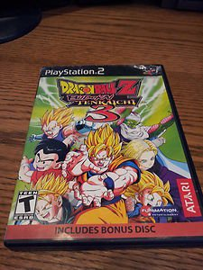 Dragonball Z Budokai Tenkaichi 3 with Bonus Disk Playstation 2