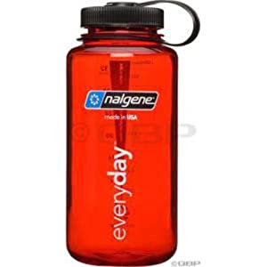 Nalgene 32oz Tritan Wide Mouth Bottle Red