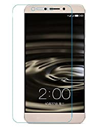 LeEco Le 1s Tempered Glass Screen Protector with OTG Cable (TEMPERED GLASS + OTG CABLE) COMBO by DRaX®