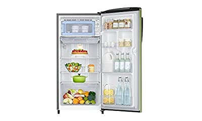 Samsung RR19H1784NT Direct-cool Single-door Refrigerator (192 Ltrs, 4 Star Rating, Emerald Green)