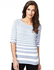 Autograph Striped Top