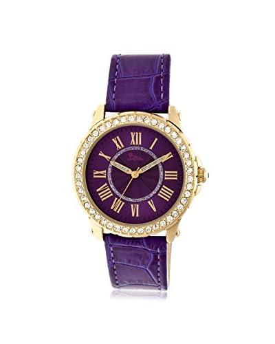 Boum Women's BOUBM2601 Belle Purple Leather Watch