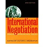 img - for [(International Negotiation: Analysis, Approaches, Issues )] [Author: Victor A. Kremenyuk] [Aug-2013] book / textbook / text book