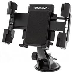 Aleratec Universal Windshield Dashboard Car Mount Holder for Smartphones up to 5.5 inches