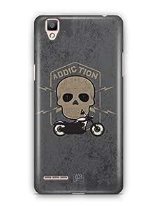 YuBingo Bike Addiction Mobile Case Back Cover for Oppo F1 Plus