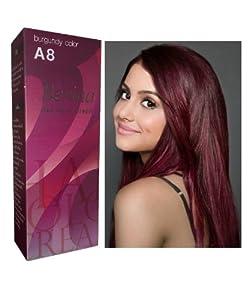 Hair professional permanent hair color cream dark burgundy hair color